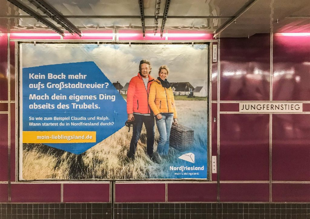 Moin Lieblingsland Kampagne Claudia & Ralph Kerpa in Hamburg
