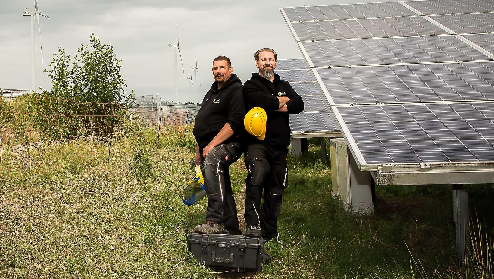 Moin Lieblingsland Küste sucht Könner: Solar Andresen