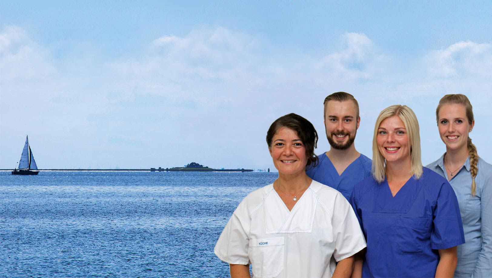 Moin Lieblingsland Partner Klinikum Nordfriesland