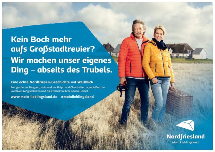 Moin Lieblingsland Kampagne Claudia & Ralph Kerpa