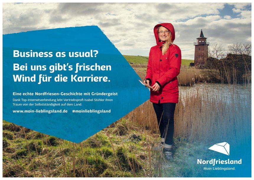 Moin Lieblingsland Kampagne Isabel Stühler