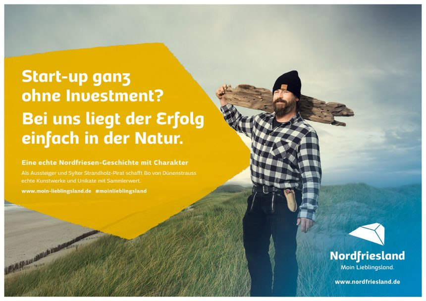 Moin Lieblingsland Kampagne Bo Janssen